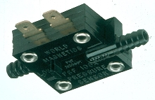 Pressure Switch is compatible with air or fluids.