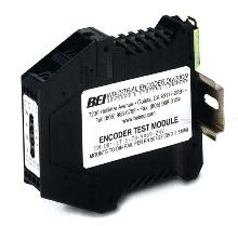 Encoder Tester utilizes DIN rail mount package.