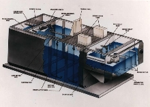 Wastewater Treatment Systems come in single steel unit.
