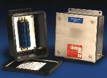 Safety Enclosures have intrinsically safe terminals.