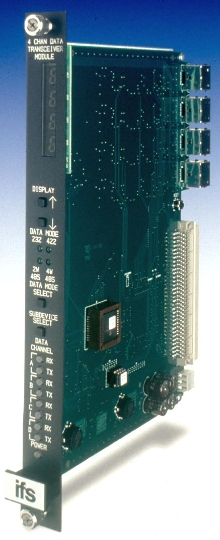 Interface/Output Module suits Intelligent Transportation Systems.