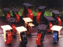 Casters and Wheels offer load capacities from 30 to 10,000 lbs.