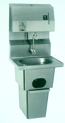 Electronic Handsink can be installed anywhere.
