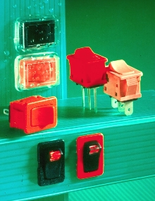 Rocker Switches have double shell case for moisture resistance.