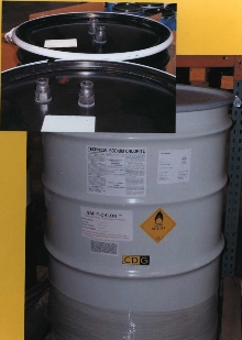 Solid Sodium Chlorite absorbs and dissipates heat.