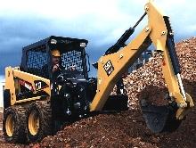 Backhoes offer digging depth up to 9 ft 6 in.