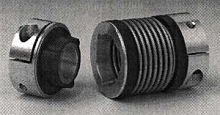 Bellow Couplings are torsionally rigid with zero backlash.