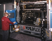 Crankshaft Finishing System changes over quickly.