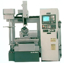 EDM Drilling System makes micro-size holes.