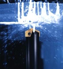 Drill provides chip control.