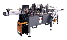 Roll-Fed Labeler offers quick change tooling.