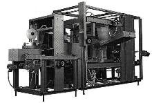 Decuffer/Sealing Machine operates in automated packing lines.