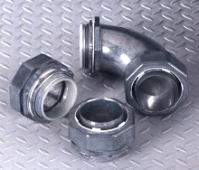 Liquidtight Fittings are UL listed and CSA approved.