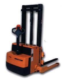 Electric Straddle Stacker is suitable for pallet handling.