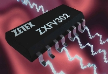 Multiplexer Chip handles high-speed signals.