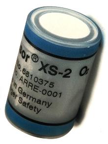 Electrochemical Sensor measures oxygen.