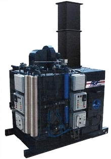 Wastewater Evaporator provides 100% removal of water content.