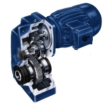 Gearbox offers maximum output torque of 796,500 lb-in.