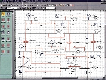 Software provides analysis tools for power systems.