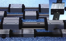 Linear Guide System holds up against frequent washdown.