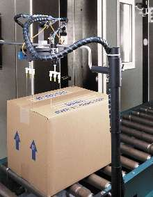 Palletizing Adhesives are water based and non-toxic.