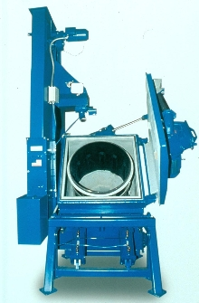 Tumbler enables processing of small parts.