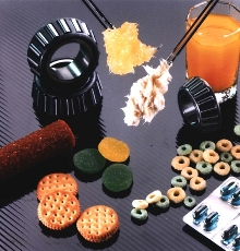Lubricants for use in food processing plants.