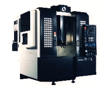 Vertical Machining Center offers rapid set up and feed rates.