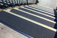 Anti-Slip Treads make worn-out stairs safe.