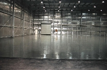 Floor Coating cures quickly to reduce downtime.