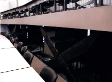 Riser transforms single-level room into tiered auditorium.