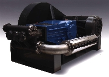 Plunger Pumps offer flows up to 320 gpm.