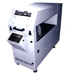 Ultrasonic Spray Fluxing System offers non-clogging design.