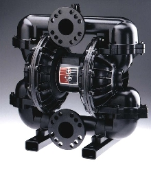 Double-Diaphragm Pumps are abrasion-resistant.
