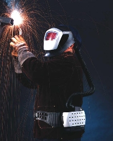 Welding Helmet provides clean, filtered air.
