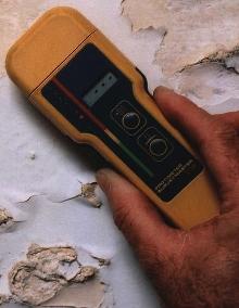 Moisture Detection Instruments reveal hidden mold.