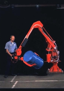 Manipulators handle loads up to 660 lbs.