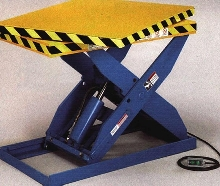 Lift Tables offer rotating top to reduce reaching.