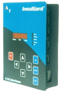 Monitoring System continuously measures partial discharge.
