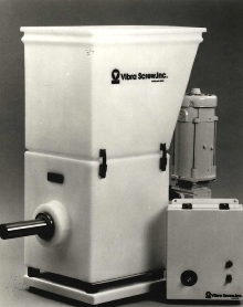 Screw Feeder offers loss-in-weight accuracy.