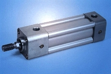 Pneumatic Cylinders are rated for 200 psi.