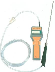 Portable CO Analyzer displays measurement in 30 sec.