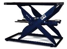 Scissor Lift has repeatable positioning at various speeds.