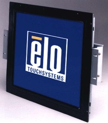 LCD Monitors can be mounted from front or rear.