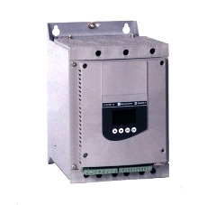 Soft Starter protects motor and machine.