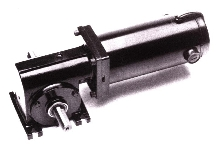 Worm Gearmotor provides high torque output.