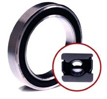 Sealed Bearings suit high speed applications.