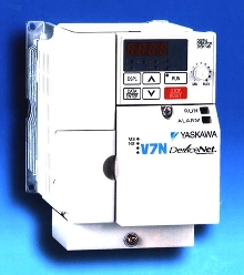 AC Drive features embedded DeviceNet communications.
