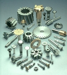 Milling Cutters come in high speed and carbide tipped models.