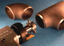 Pipe Milling End Prep Tool has oversize ID clamping system.